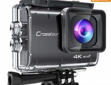 Cámara deportiva Crosstour 4K, 20 Mp – ¿una alternativa real a GoPro?